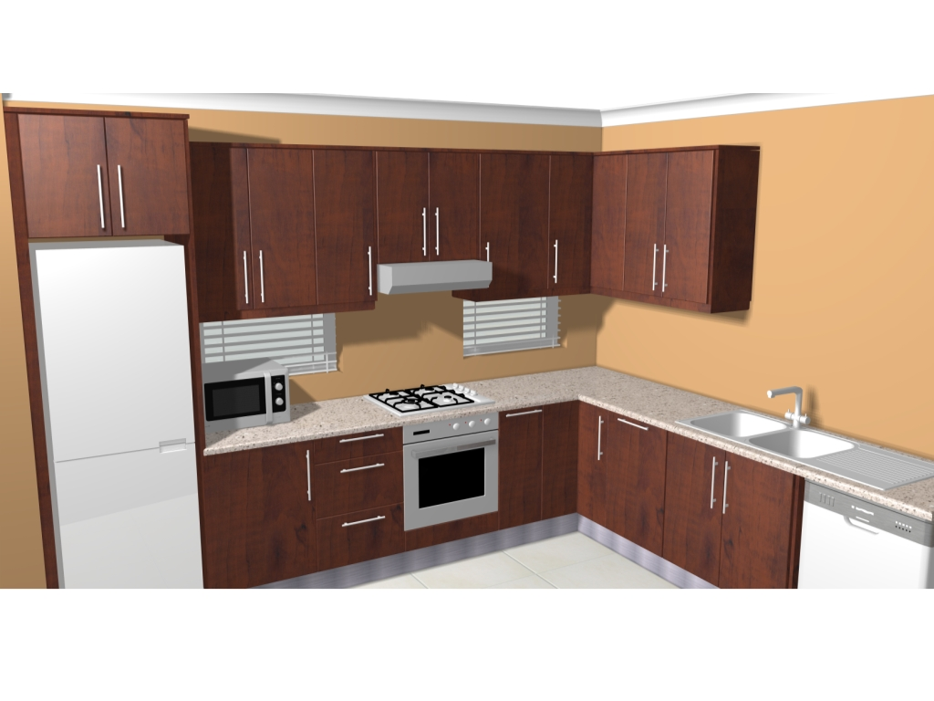Typical kitchens cupboards turnberry village for Kitchenette cupboard
